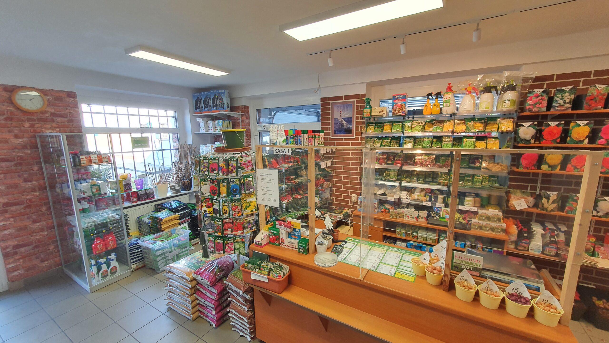 sklep ogrodniczy w Słupsku